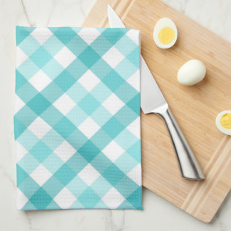 From the Kitchen of Food Label - Teal Towel