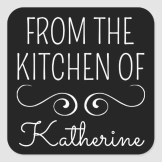 From The Kitchen Of Square Sticker