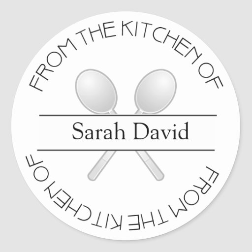 From The Kitchen OF: Stickers