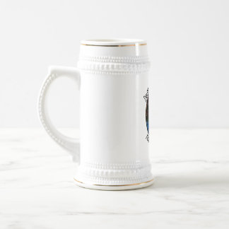 """From the """"Larry the Drummer"""" reflection collection 18 Oz Beer Stein"""