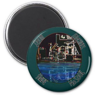 """From the """"Larry the Drummer"""" reflection collection 2 Inch Round Magnet"""