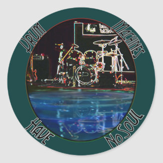 "From the ""Larry the Drummer"" reflection collection Sticker"