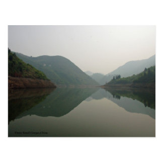 From The Lesser Three Gorges of Daning River Postcard