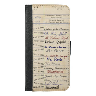 From the Library of Jekyll & Hyde iPhone 6/6s Plus Wallet Case