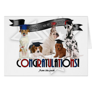From the Pack Vet Tech Graduate Congratulations Card