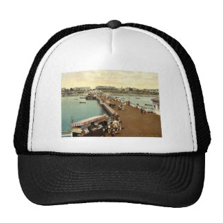 From the pier, Clacton-on-Sea, England vintage Pho Trucker Hats