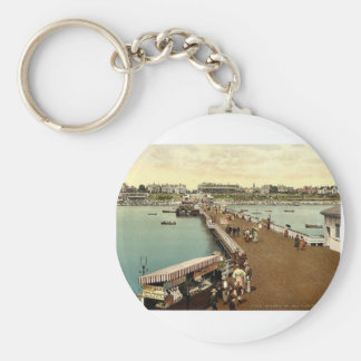 From the pier, Clacton-on-Sea, England vintage Pho Keychains