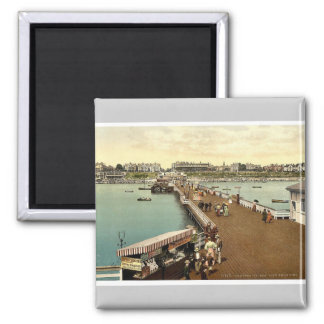 From the pier, Clacton-on-Sea, England vintage Pho Refrigerator Magnets