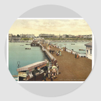 From the pier, Clacton-on-Sea, England vintage Pho Sticker