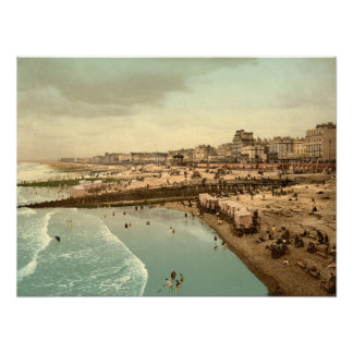 From the Pier I, Brighton, England archival print