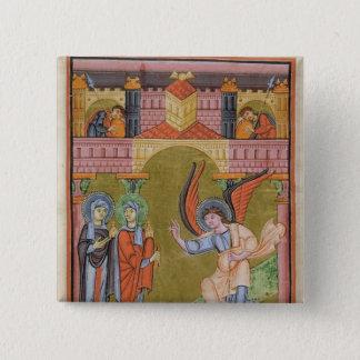 from the Reichenau School Evangeliary Button