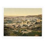 From the road to Cana, Nazareth, Holy Land, (i.e., Postcard