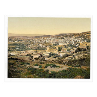From the road to Cana, Nazareth, Holy Land, (i.e., Postcard