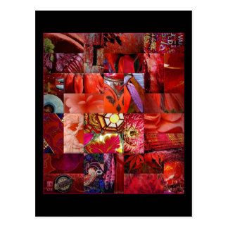 From the Ruby Patchwork Gift Range Postcard