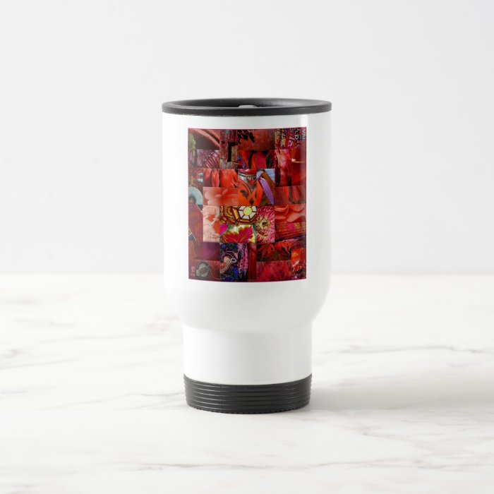 From the Ruby Patchwork Gift Range Travel Mug