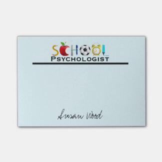 From the School Psychologist Custom Post-it Notes Post-it® Notes