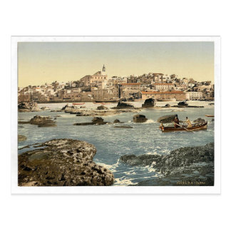 From the sea, Jaffa, Holy Land, (i.e. Israel) clas Postcard