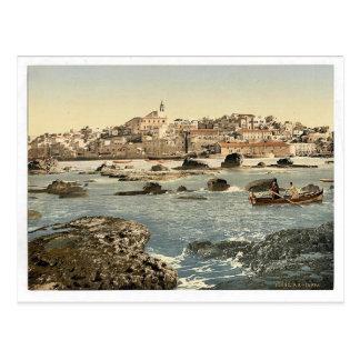 From the sea, Jaffa, Holy Land, (i.e. Israel) clas Postcards