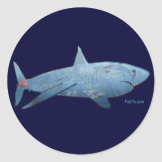 From the Sharks Collection Classic Round Sticker