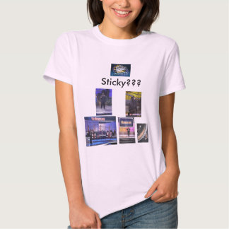From the singing bee....... Sticky????? Shirts