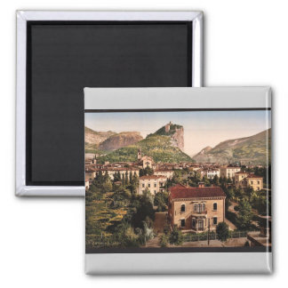 From the south, Arco, Garda, Lake of, Italy vintag Refrigerator Magnets