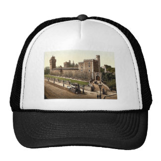 From the southeast, Cardiff Castle, Wales rare Pho Trucker Hat