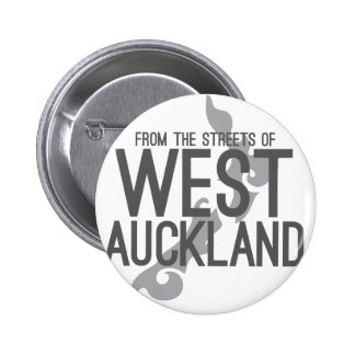 From the Streets of West Auckland Button