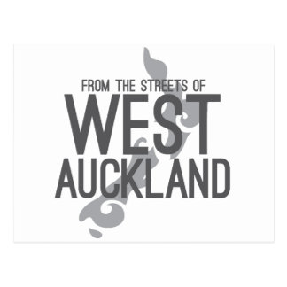 From the Streets of West Auckland Postcard