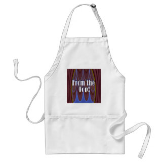 From the Top! Adult Apron