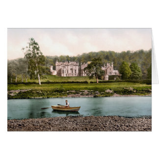 From the Tweed, Abbotsford, Scotland Card