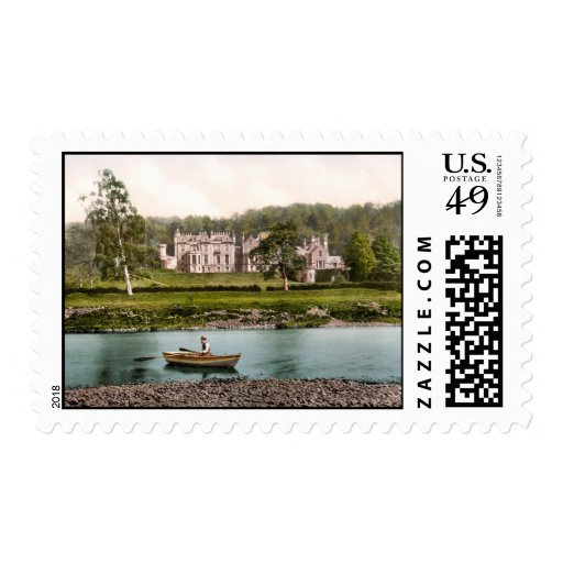 From the tweed, Abbotsford, Scotland Postage Stamp