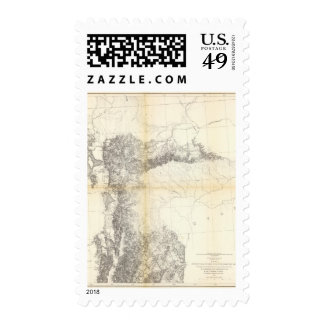 From the Valley of Green River to Great Salt Lake Stamp