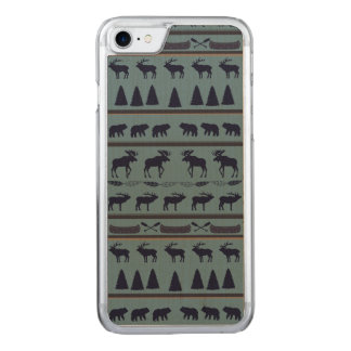"""""""From the Wild"""" by LH Carved iPhone 8/7 Case"""