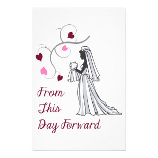 From This Day Forward Stationery