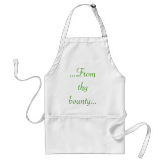 From Thy Bounty Apron