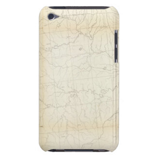 From W boundary of Missouri to mouth of Trap Creek iPod Case-Mate Case