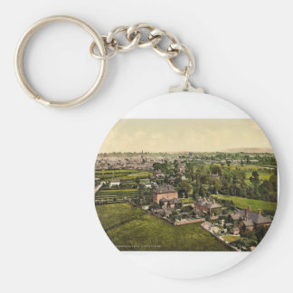 From water tower, Hereford, England classic Photoc Keychains