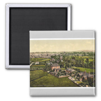 From water tower, Hereford, England classic Photoc Fridge Magnets