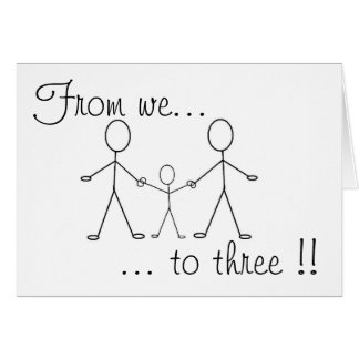 From we to three !! cards