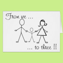 From we to three !! card