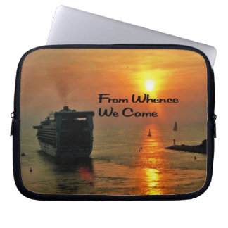From Whence We came Laptop Sleeve