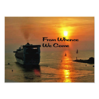 From Whence We came Art Photo