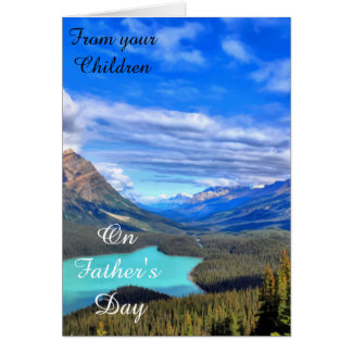 From your Children, on Father's Day Card
