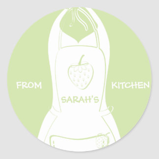 From {Your Name's} Kitchen Labels (lime)