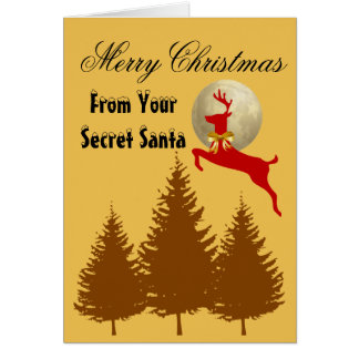 From Your Secret Santa - Merry Christmas Card
