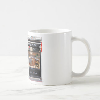 Fromage Rouge ~ Cheese and Wine Paris Classic White Coffee Mug