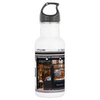 Fromage Rouge ~ Cheese and Wine Paris Water Bottle