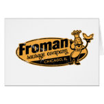 Froman Sausage co chicago illinois Card