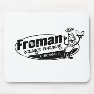 Froman Sausage co chicago illinois Mouse Pad