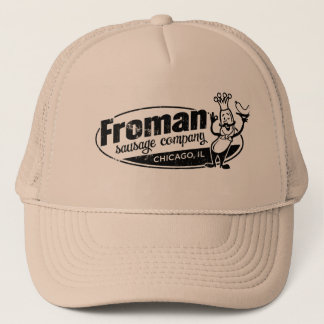 Froman Sausage co chicago illinois Trucker Hat